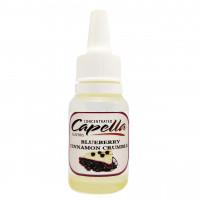 Capella Blueberry Cinnamon Crumble Ароматизатор (Черничный пирог с корицей) 10 мл