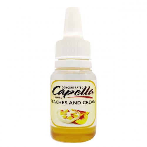 Capella Peaches and Cream (Персики с Кремом) 10 мл