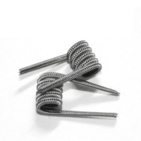 Staggered Fused Clapton (Нержавейка) 0,4 мм (2шт)